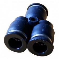 4mm Union Y Connector