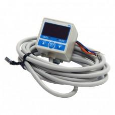Square type of NPN digital pressure Vacuum Monitor Switch