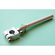 Clamping 12mm Tube & Swivel with 12mm Shaft Long Elbow Arm