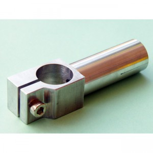 Clamping 20mm Tube with 20mm Shaft Short Angle Arm