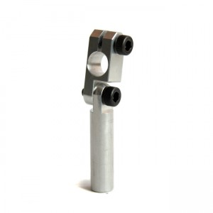 Clamping 10mm Tube & Swivel with 10mm Shaft Short Elbow Arm
