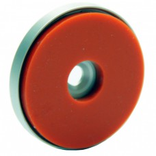 Silicone-Padded Mini Cylinder Round Plate