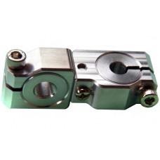 90 degree Swivel & Tube Changeable Cross Clamp for 8mm tube & M10 threaded arm