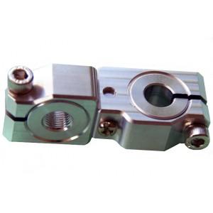 90 degree Swivel & Tube Changeable Cross Clamp for 12mm tube & M10 threaded arm