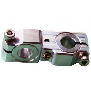 90 degree Swivel & Tube Changeable Cross Clamp for 12mm tube & M12 threaded arm