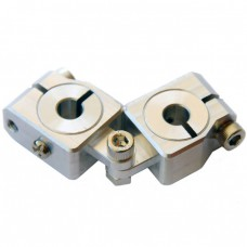 clamping 20&14mm Horizontal Swivel & Tube Changeable Cross Clamp