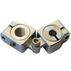 clamping 8mm&M12 Horizontal Swivel & Tube Changeable Cross Clamp