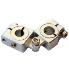 clamping 12&10mm Horizontal Swivel & Tube Changeable Cross Clamp