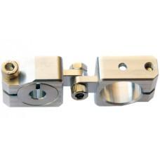 clamping 20&8mm Horizontal Swivel & Tube Changeable Cross Clamp