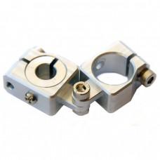 clamping 20&10mm Horizontal Swivel & Tube Changeable Cross Clamp