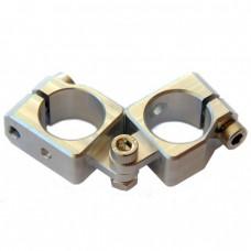 clamping 20&20mm Horizontal Swivel & Tube Changeable Cross Clamp
