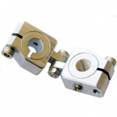 clamping 10mm&M10 Vertical Swivel & Tube Changeable Cross Clamp