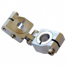 clamping 12&8mm Vertical Swivel & Tube Changeable Cross Clamp