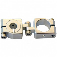 clamping 20&10mm Vertical Swivel & Tube Changeable Cross Clamp
