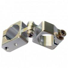 clamping 20&20mm X-Cross Swivel & Tube Changeable Cross Clamp