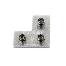 50x50 Flat L Connector