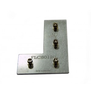 120x80 Flat L Connector