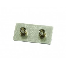50x25 Flat Straight Connector