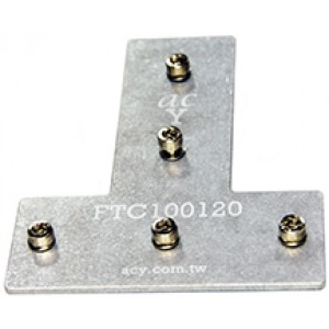 120x100 Flat T Connector