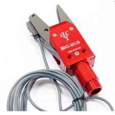 Sensor-mounted NPN Slide Sprue Gripper w/Interlaced & Serrated Jaws